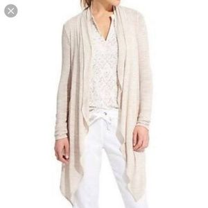Athleta Coronado Cream Wrap Sweater